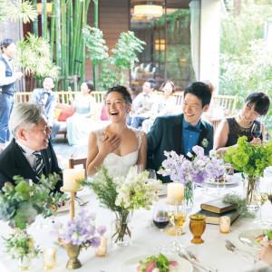 ~40名様の少人数パーティも可能。大切なご家族・ご友人とアットホームなご結婚式を。|WITH THE STYLE(ウィズ ザ スタイル)の写真(3305963)