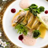ラリアンスのお料理は、和とフレンチの融合『フレンチジャポネ』。年配のゲストにも食べやすいと好評!