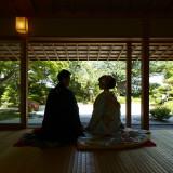 100年の歴史を感じていただける日本庭園。季節の風情を感じられます