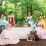 オシャレ大人女子必見! 「ディズニープリンセス」をイメージしたウエディングドレスが遂に登場。