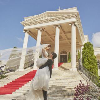 憧れの大階段で♪シンデレラ体験☆ドレス試着&フォト撮影☆