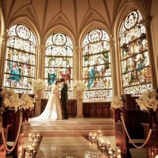 【初めての方にも】★大聖堂まるごと貸切花嫁体験★豪華試食付