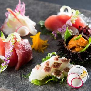 すべてお箸で召し上がっていただけるよう、和テイストのお料理をご用意|THE KAWABUN NAGOYA(ザ・カワブン・ナゴヤ)の写真(667633)