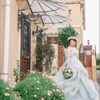 ★新作入荷★ドレス試着で憧れの花嫁体験♪