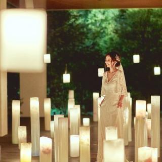 『幻想的なキャンドル演出が魅力』冬婚フェア[午後の部]