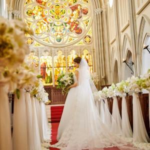 ◆首都圏最大級の大聖堂◆プレ花嫁の憧れチャペル体験フェア