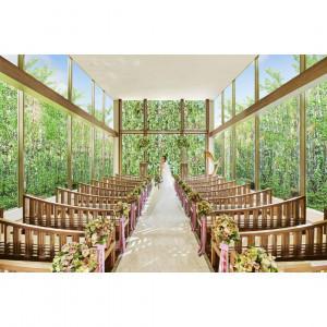 ◆4連休BIG◆MAX120万優待♪森に佇むチャペル×貸切ガーデン体験