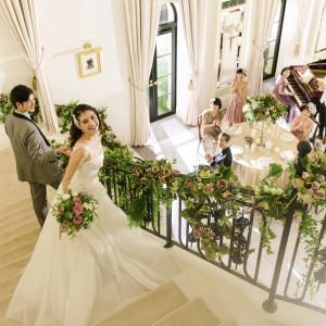 上質ながらあたたかみのある会場では、アットホームな雰囲気を演出 アクアテラス迎賓館(新横浜)の写真(4331269)