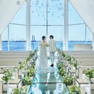 【海が見える挙式体験】15大特典×和&フレンチ試食付フェア