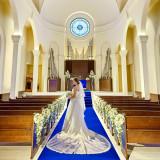 【午前中来館がおすすめ】エリア唯一の大聖堂での挙式体験付