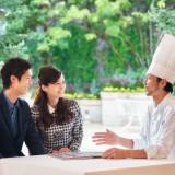 【おもてなし】のお料理も当館シェフと打ち合わせしながら、 オリジナル料理も可能ですよ!!