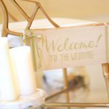 ゲストに「ようこそ」を」伝える装飾もおふたりの思うがままに。