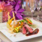 幅広いゲストにご満足頂ける和洋折衷料理。