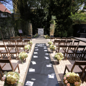 人気のガーデン挙式は海外風ウェディングが叶う|GARDEN WEDDING アルカディア小倉の写真(1284725)