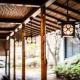 和室までの回廊は味のある雰囲気。
