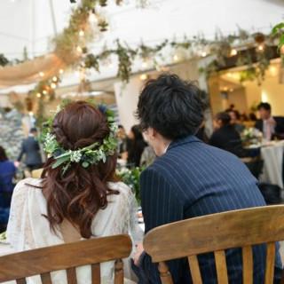 【挙式本番を近くで感じよう!】結婚式当日の雰囲気を体感!