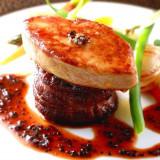 あの「ロッシーニ」を可愛らしく丸型のお肉でアレンジ