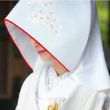 【綿帽子】日本の花嫁ならではの装いで...