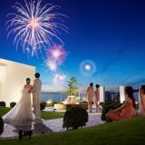 花火はお二人のご結婚式のためだけに。とっておきのひとときはゲストの皆様へのおもてなし