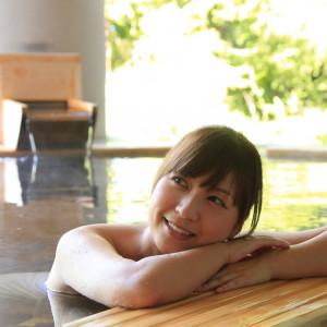 いっぱい遊んだ後は「あてま温泉・露天風呂」で疲れをいやしてください。|あてま高原リゾート ベルナティオの写真(627498)
