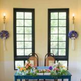 レストラン貝殻亭のお隣【ガーデンサロン】は披露宴のデザートビュッフェや1.5次会、2次会などでのご利用が人気