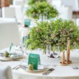 緑に囲まれた空間でお二人らしい結婚式の実現が可能。