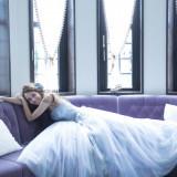 人気ブランド最新ドレスもドレスサロン「マリアージュ」にてお取扱いしております。こちらの写真は 『ISAMU MORITA』
