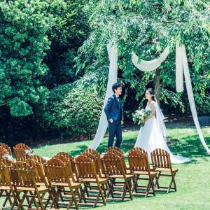 【Garden Wedding】貸切邸宅で理想のガーデン挙式