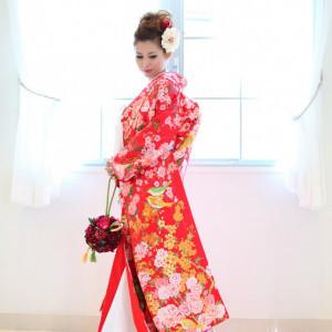 和風のブーケを持って|小さな結婚式 浦和店の写真(638195)