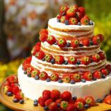 #ウエディングケーキ #ネイキッド #イチゴ #専属パティシエ #全部食べれます #宮城 #ファウンテンヒルズ仙台