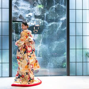 宗教色なく誰にでも開かれる善光寺門前だからこそ、和装での人前式も人気|藤屋御本陣(THE FUJIYA GOHONJIN)の写真(5637111)