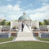 挙式場から広がる絆の庭『リングガーデン』では、アフターセレモニーも充実!
