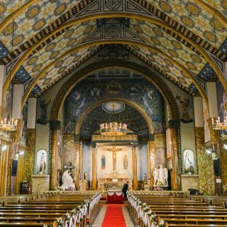 ステンドグラスの大聖堂が魅力のサレジオ教、会見学フェア 送迎特典あり!