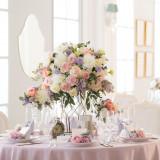 上質さと可愛らしさを兼ね備えた華やかな装飾がプリンセス気分を高揚させる