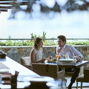 開放的なレストランは、当日貸切のウェイティングスペースに|SCAPES THE SUITEの写真(2278782)
