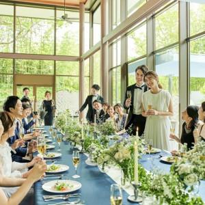 【~30名家族婚も♪】貸切邸宅×美食で彩るアットホーム挙式