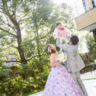 【おめでた婚&パパママキッズ婚】家族一緒に素敵な想い出を