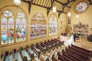 挙式~英国スタイル~ 那須高原 ミッシェルガーデンコート/那須高原セント・ミッシェル教会の写真(3182837)