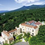【ミッシェルガーデンコート】天空からのお写真!森の中にひっそりと佇む、貴族の館<マナーハウス> 那須の自然を感じながらお2人らしいウェディングが叶う場所です。