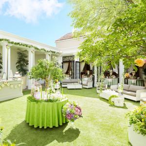 そよ風が気持ちいい緑のガーデン付き邸宅「ヴィラ プリマヴェラ」