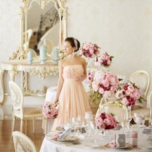 【プレ花嫁必見!】憧れのドレス試着で大変身♪無料試食付