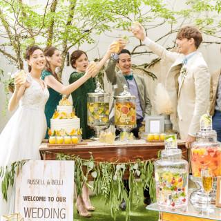 【午前中のフェア限定】当館オリジナルのフレッシュフルーツたくさんのウェルカムパーティ体験!!