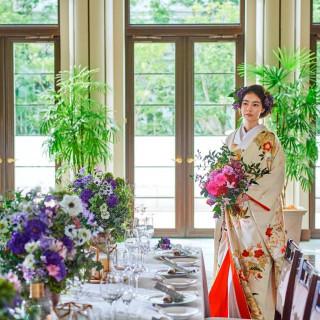 【緑豊かな貸切邸宅で叶う和婚式】気になる費用&贅沢試食付