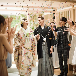 【和洋折衷の結婚式体験】神殿~結 Yui ~を見学と無料試食