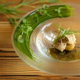 季節を感じる一皿 同じ食材でもソースや調理法を変えるだけで如何様にも変化する