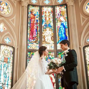 永遠の愛を誓う二人|京都 アートグレイス ウエディングヒルズの写真(3940049)