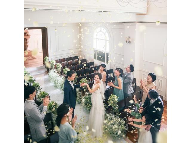 結婚式のイメージをVTRで紹介