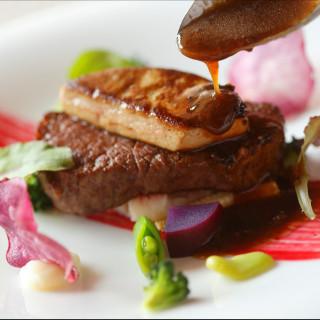 福島県産牛フィレ肉とフォアグラのロッシーニ 無料試食あり