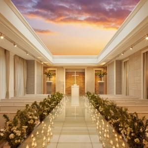 「空・光・水」をテーマにしたチャペル 青山迎賓館の写真(1372155)