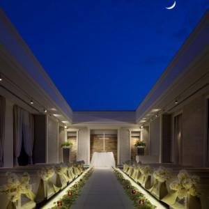 「空・光・水」をテーマにしたチャペル 青山迎賓館の写真(613096)